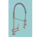 Suneli N88502B4-BN Brushed Nickel Kitchen Faucet