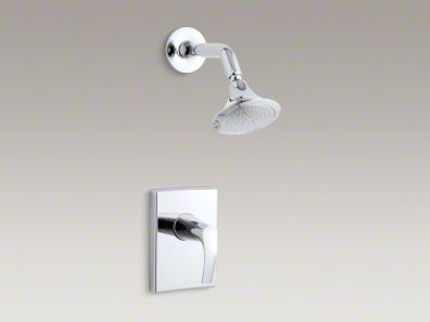 Kohler Symbol® Rite-Temp® pressure-balancing shower faucet trim, valve not included K-T18489-4