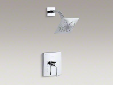 Kohler Stance® shower trim set with lever handle for Rite-Temp® valve K-T14778-4