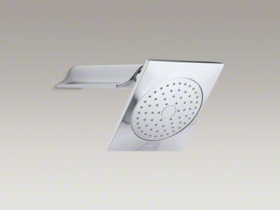 Kohler Stance® 2.5 gpm single-function wall-mount showerhead with arm K-14787