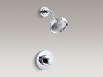 Kohler Oblo® Rite-Temp® pressure-balancing shower faucet trim, valve not included  K-T10056-9