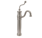 Huntington Brass Victorian Vessel Faucet Satin Nickel
