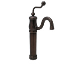 Huntington Brass Victorian Vessel Faucet Antique Bronze