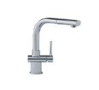 Franke FFP1080 Satin Nickel Pull Out Nozzle Kitchen Faucet