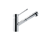 Franke FFPS1300 Polished Chrome Pull Out Nozzle Kitchen Faucet