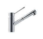 Franke FFPS1380 Satin Nickel Pull Out Nozzle Kitchen Faucet