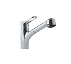 Franke FFPS280 Satin Nickel Pull Out Spray Kitchen Faucet