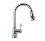 Franke FHPD180 Satin Nickel Pull Down Faucet