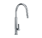 Franke FF2700 Polished Chrome Pull Out Nozzle Kitchen Faucet