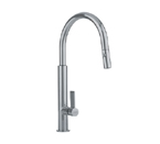 Franke FF2780 Satin Nickel Pull Out Nozzle Kitchen Faucet