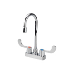 Proflo 2 Handle 4 Centerset Commercial Bar Faucet  - Polished Chrome