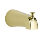 Delta U1075-PB-PK Polished Brass Diverter Tub Spout