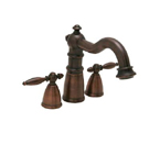 "Huntington Brass WYMW20BL Victorian Vanity Faucet (4""-8"") Antique Bronze"