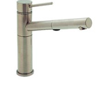 Blanco 441402 Alta Satin Nickel Pullout Faucet W/ Dual Spray