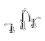 Moen Traditional Chrome Two Handle High Arc Bathroom Faucet - CA84004