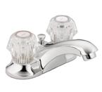 Moen Adler Chrome Two-Handle Low Arc Bathroom Faucet - CA84422