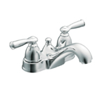 Moen Banbury Chrome Two Handle Low Arc Bathroom Faucet - CA84912
