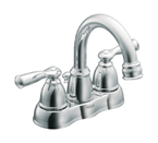 Moen Banbury Chrome Two Handle Low Arc Bathroom Faucet - CA84913