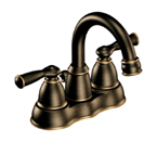 Moen Banbury Mediterranean Bronze Two Handle Low Arc Bathroom Faucet - CA84913BRB