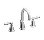 Moen Banbury Chrome Two Handle High Arc Bathroom Faucet - CA84924