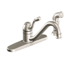 Moen Lindley Spot Resist Stainless One Handle High Arc Kitchen Faucet - CA87009SRS