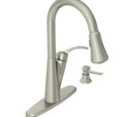 Moen Russo Spot Resist Stainless One-Handle HIgh Arc Pulldown Kitchen Faucet