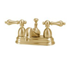 Elizabethan Classics CS01PB Centerset Bathroom Faucet - Polished Brass