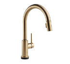 Delta 9159T-CZ-DST Trinsic Single Handle Pull-Down Kitchen Faucet - Champagne Bronze