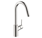 Hansgrohe 14872801 Talis S Kitchen Faucet - Steel Optik