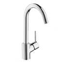 Hansgrohe 04870800 Talis S High Arc Kitchen Faucet - Steel Optik