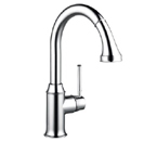 Hansgrohe 04215800 Talis C HighArc Kitchen Faucet - Steel Optik