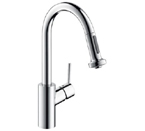 Hansgrohe 04286800 Talis S Prep Kitchen Faucet - Steel Optik