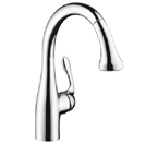 Hansgrohe 04297800 Allegro E Prep Kitchen Faucet - Steel Optik