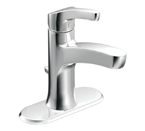 Moen Danika Chrome One Handle High Arc Bathroom Faucet - L84733