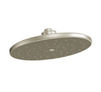 "Moen Waterhill Brushed Nickel One Function 10"" Diameter Eco Performance Rainshower Showerhead - S112EPBN"