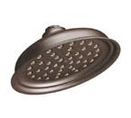 "Moen Isabel Oil Rubbed Bronze One Function 7"" Diameter Eco Performance Showerhead - S136EPORB"