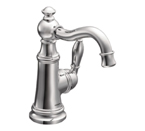 Moen Weymouth Chrome One Handle High Arc Bathroom Faucet - S42107