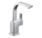 Moen 90 Degree Chrome One Handle High Arc Single Mount Bar Faucet - S5170