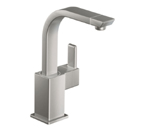 Moen 90 Degree Classic Stainless One Handle High Arc Single Mount Bar Faucet - S5170CSL