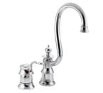 Moen Waterhill Chrome One Handle High Arc Bar Faucet - S611