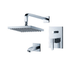 FLUID F2040T-CP Penguin Series Tub & Shower Set - Chrome