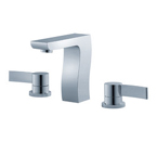 FLUID F12006-CP Dual Handle Lavatory Faucet - Chrome