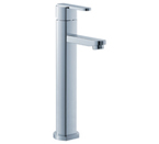 FLUID F28002-CP Wisdom Series Single Lever Lavatory Vessel Faucet - Chrome