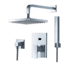 FLUID F2141T-CP Jovian Series Shower with Handheld Trim Package - Chrome