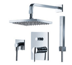 FLUID F1641T-CP Toucan Series Shower With Handheld Trim Package - Chrome