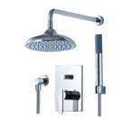 FLUID F2841-CP Wisdom Series Shower With Handheld Trim Package - Chrome
