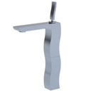 FLUID F12002-CP Single Lever Lavatory Vessel Faucet - Chrome