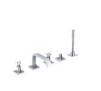Grohe 25083 Allure 5-Hole Roman Tub Bathtub Faucet - Chrome