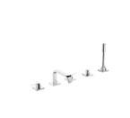 Grohe 25097 000 Allure 5-Hole Roman Tub Bathtub Faucet - Chrome