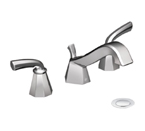 Moen Felicity Chrome Two Handle Low Arc Bathroom Faucet - TS447